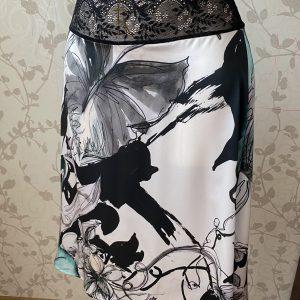 шелковая юбка для танго